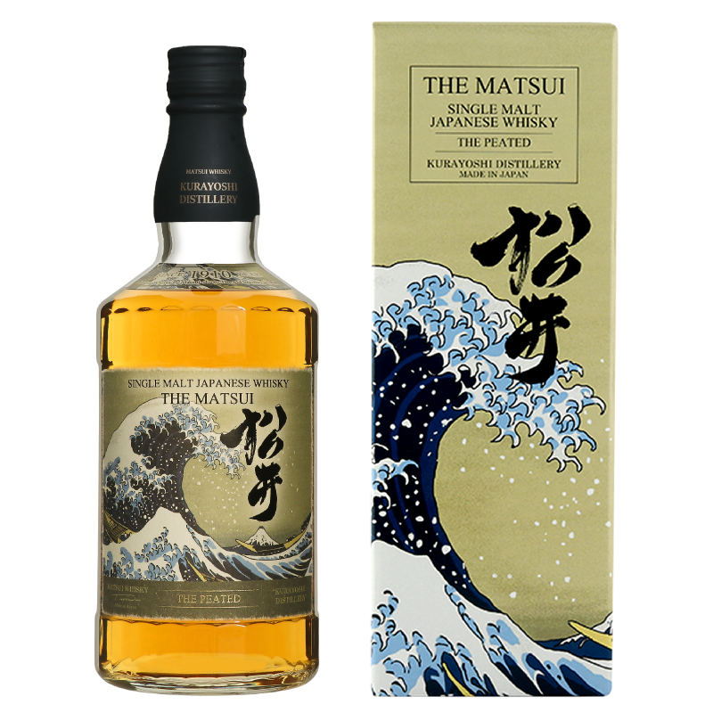 松井 ピーテッド 海外限定デザインボトル