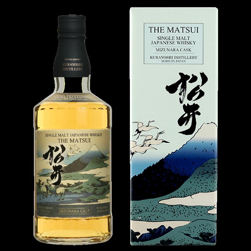 松井 ミズナラカスク 海外限定デザインボトル